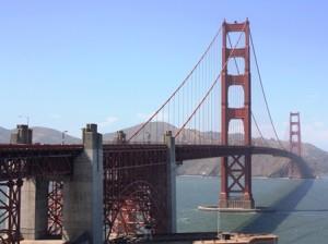 Golden Gate Bridge Überquerung
