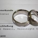 Heirat USA Eheurkunde Deutschland