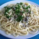 Spaghetti mit original italienischer Gorgonzola-Sauce