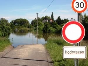 Elbe Hochwasser in Magdeburg