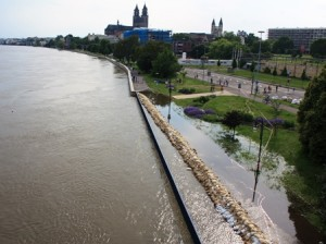 Hochwasser Magdeburg 2013
