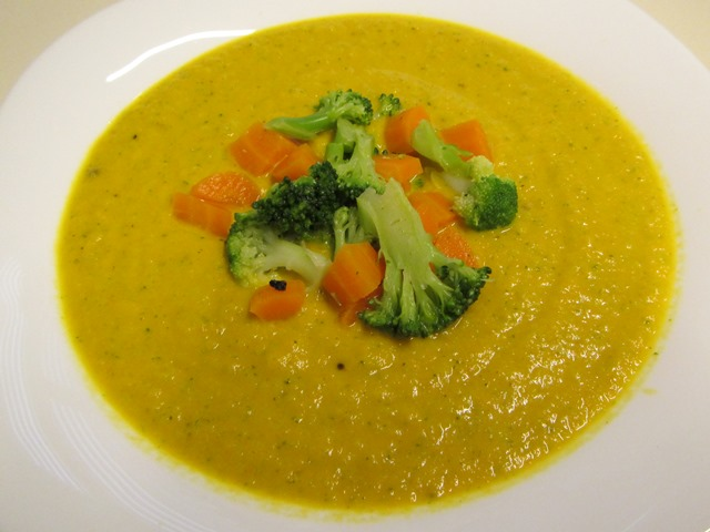 asiatische Gemüsesuppe